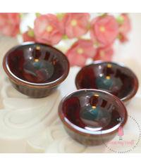 Miniature Broad Bowl Brown