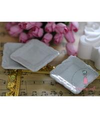 Miniature Big Square Plates