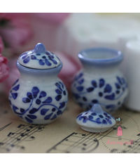 Miniature Round Pot with Lid