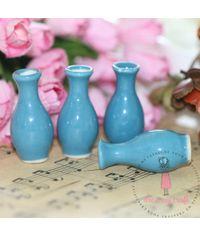 Miniature Long Vase Blue