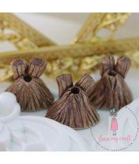 Miniature Wooden Looks Pots # 1