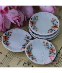 Miniature Dinner Plates Printed
