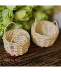 Miniature Cane Basket