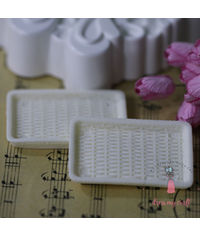 Miniature Serving Tray - Ivory