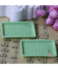 Miniature Serving Tray - Green