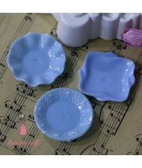 Miniature Plate - Blue