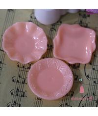 Miniature Plate - Peach