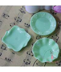 Miniature Plate - Green