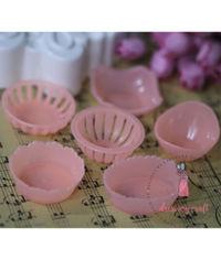 Miniature Set of Baskets - Peach