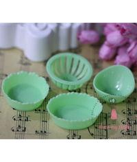Miniature Set of Baskets - Green