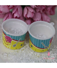 Miniature Ice Cream Tub # 2