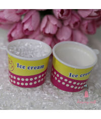 Miniature Ice Cream Tub # 8