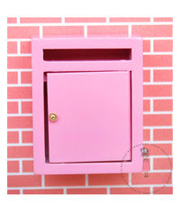 Miniature Letter Box - Baby Pink