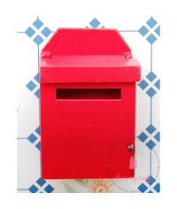 Miniature Letter Box # 2 - Red