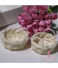 Miniature Wicker Basket - Large