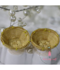 Miniature Vegetable Cane Basket #2