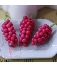 Miniature Fruit - Pink Grapes