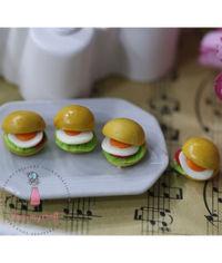 Miniature Bread - Egg Burger