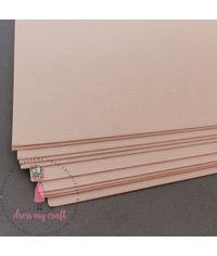 Pastel Pink Textured Cardstock