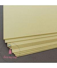 Pastel Yellow Textured Cardstock