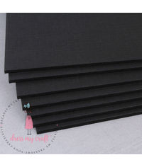 Smooth Black Cardstock - 1600 GSM