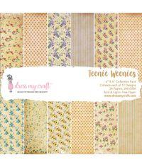 """Teenie Weenies - 6"""" x 6"""" Paper Pad"""