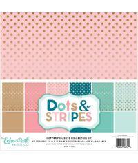 Dots & Stripes W/Copper Foil