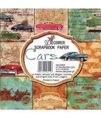 """Cars  6"""" x 6"""" - Paper Pad"""