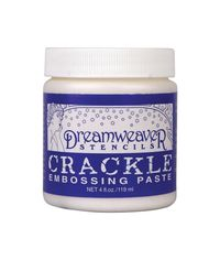 Dreamweaver Embossing Paste 4oz Crackle