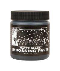 Matte Black - Embossing Paste