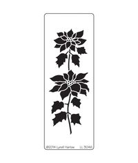 Tall Poinsettia - Stencils