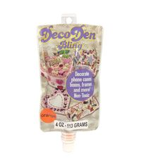 Orange- Deco Den Bling Paste 4oz