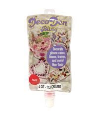 Red - DecoDen Bling Paste 4oz