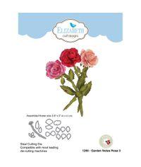 Garden Notes Rose 3 Die