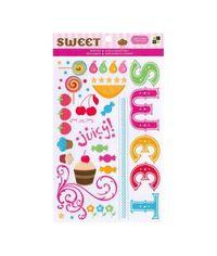 Sweet Glitter Rub-Ons 4.5