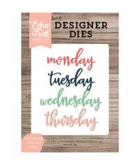 Script Monday To Thursday - Die