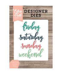 Script Friday To Sunday - Die