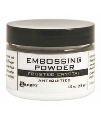 Ranger Frosted Crystal Embossing Powder 1.5oz