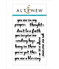 Painted Encouragement Stamp Set