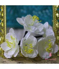 Fabric Flower - Ivory