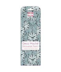 Clocks - Deco Mache Paper