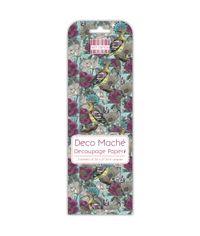 Blue Hoopoe - Deco Mache Paper