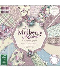 "Mulberry Kisses Paper 6""X6"" 64/Pkg"