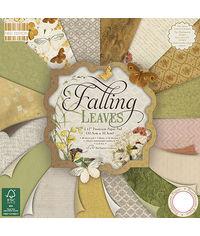 """Falling Leaves Paper 12""""X12"""" 48/Pkg"""