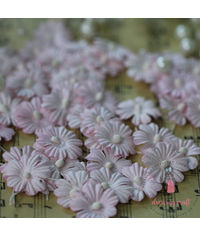 Sakura Flat Flowers with Pollens - Light Pink