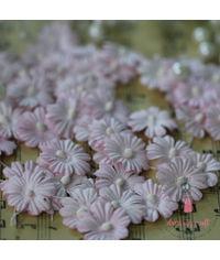 Sakura Flat Flowers with Pollens - Light Pink