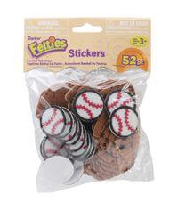 Baseball - Foam Sticker
