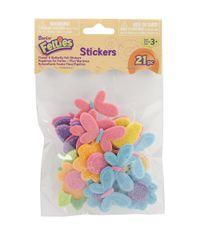 Butterflies & Flowers - Foam Stickers