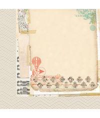"""Layered Ephemera - 25 Pcs of 12"""" x 12"""" Paper"""