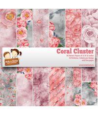 """Coral Cluster  12""""X12"""", 36/pkg"""